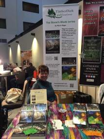 2017 Starfest Convention Author table